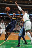 Denver Nuggets v Boston Celtics: Chauncey Billups and Glen Davis