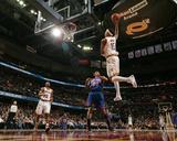 New York Knicks v Cleveland Cavaliers: Jamario Moon  Ramon Sessions and Wilson Chandler