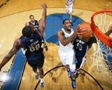 Memphis Grizzlies v Washington Wizards: Gilbert Arenas and Darrell Arthur