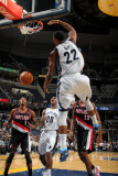 Portland Trail Blazers v Memphis Grizzlies: Rudy Gay and Marcus Camby