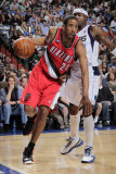 Portland Trail Blazers v Dallas Mavericks: Andre Miller and Jason Terry