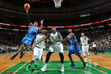 Oklahoma City Thunder v Boston Celtics: Russell Westbrook and Rajon Rondo