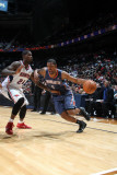 Charlotte Bobcats v Atlanta Hawks: Dominic McGuire and Marvin Williams