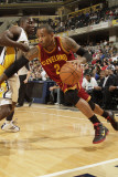 Cleveland Cavaliers  v Indiana Pacers: Mo Williams and Darren Collison
