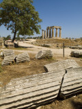 Fallen Columns and the Doric-Style 550 Bc Temple of Apollo