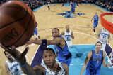 Dallas Mavericks v New Orleans Hornets: Willie Green and Shawn Marion