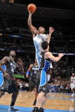 Orlando Magic v Denver Nuggets: JR Smith and JJ Redick