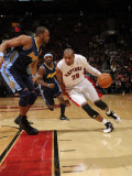 Denver Nuggets v Toronto Raptors: Leandro Barbosa and Shelden Williams