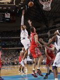 Houston Rockets v Dallas Mavericks: Shawn Marion and Brad Miller
