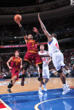 Cleveland Cavaliers  v Philadelphia 76ers: Mo Williams and Elton Brand