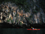 Kayaking Among Karsts