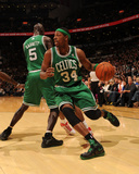 Boston Celtics v Toronto Raptors: Paul Pierce and Kevin Garnett