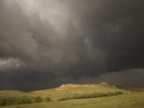 Thunderclouds Gather Above Little Missouri Grasslands and Buttes