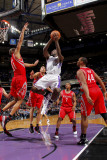 Houston Rockets v Sacramento Kings: Tyreke Evans and Shane Battier