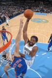 New York Knicks v Denver Nuggets: Nene and Danilo Gallinari