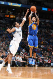 Golden State Warriors v Minnesota Timberwolves: Wayne Ellington and Monta Ellis