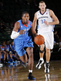 Tulsa 66ers v Texas Legends: Jerome Dyson and Matt Rogers
