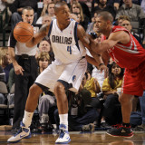 Houston Rockets v Dallas Mavericks: Caron Butler and Shane Battier