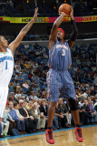 Charlotte Bobcats v New Orleans Hornets: Gerald Wallace and Trevor Ariza