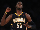 Indiana Pacers v Los Angeles Lakers: Roy Hibbert