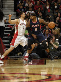 Atlanta Hawks v Toronto Raptors: Josh Smith and Andrea Bargnani