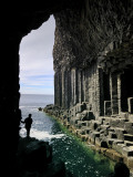Fingal&#39;s Cave on the Isle of Staffa Off the West Coast of Mull