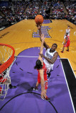 Houston Rockets v Sacramento Kings: Samuel Dalembert and Luis Scola