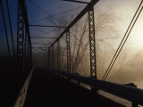 Fog at Sunrise from a Bridge over the Little Tennessee River