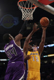 Sacramento Kings v Los Angeles Lakers: Jason Thompson and Ron Artest