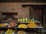 Fruit on Display at a Street Market