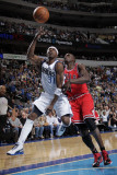 Chicago Bulls v Dallas Mavericks: Jason Terry and Luol Deng