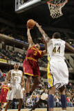 Cleveland Cavaliers  v Indiana Pacers: Ramon Sessions and Solomon Jones