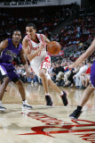 Sacramento Kings v Houston Rockets: Kevin Martin and Luther Head