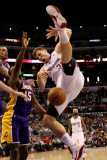 Los Angeles Lakers v Los Angeles Clippers: Blake Griffin  Matt Barnes and Ron Artest