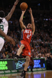 New Jersey Nets v Boston Celtics: Jordan Farmar and Marquis Daniels