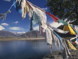 Prayer Flags Along the Yarlung Tsangpo (Brahmaputra) River