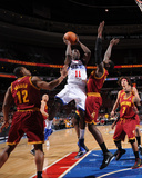 Cleveland Cavaliers  v Philadelphia 76ers: Jrue Holiday and Joey Graham
