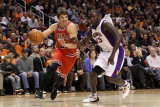 Chicago Bulls v Phoenix Suns: Kyle Korver and Jason Richardson