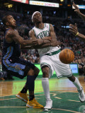 Denver Nuggets v Boston Celtics: JR Smith and Marquis Daniels