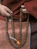 Lama with Prayer Beads