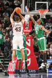 Boston Celtics v New Jersey Nets: Kris Humphries and Marquis Daniels