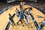 New Orleans Hornets v San Antonio Spurs: Richard Jefferson and David West