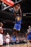 Golden State Warriors v Portland Trail Blazers: Dante Cunningham and Dorell Wright