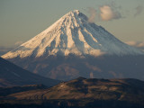 Snowcapped Kronotsky Volcano
