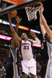 Memphis Grizzlies v Phoenix Suns: Grant Hill and Rudy Gay