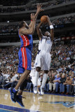 Detroit Pistons v Dallas Mavericks: Jason Terry and Tracy McGrady