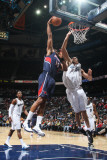 Washington Wizards v Atlanta Hawks: Al Horford and JaVale McGee