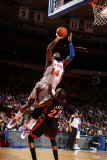 Miami Heat v New York Knicks: Ronny Turiaf and James Jones