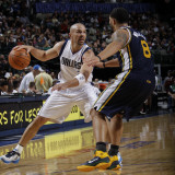 Utah Jazz v Dallas Mavericks: Jason Kidd and Deron Williams