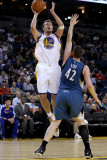 Minnesota Timberwolves v Golden State Warriors: David Lee and Kevin Love